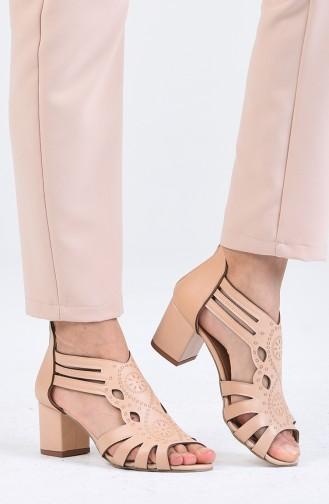 Chaussures a Talons Couleur de teint 9055-08