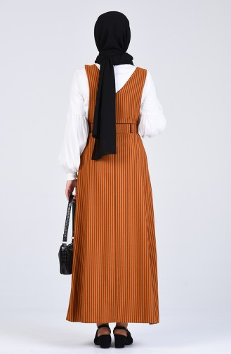 Belted Gilet Dress 2002-07 Dark Mustard 2002-07
