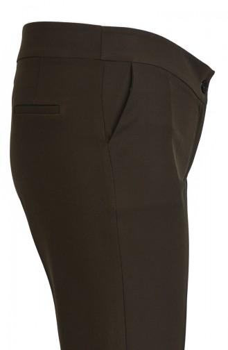Pantalon Vert Foncé 1501-02