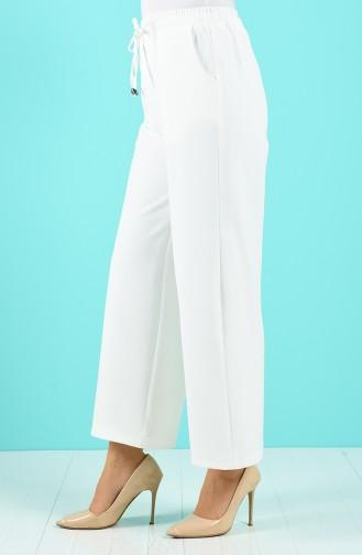 Pantalon Ecru 1522-01