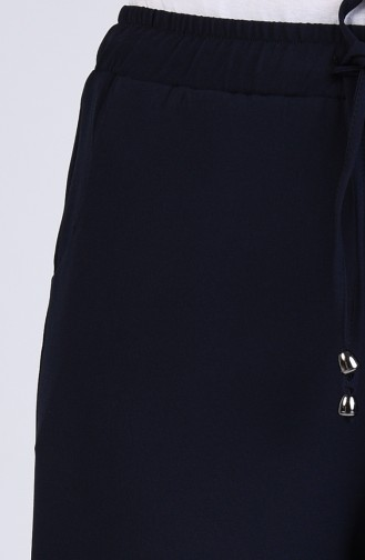 Pantalon Bleu Marine 1522-03