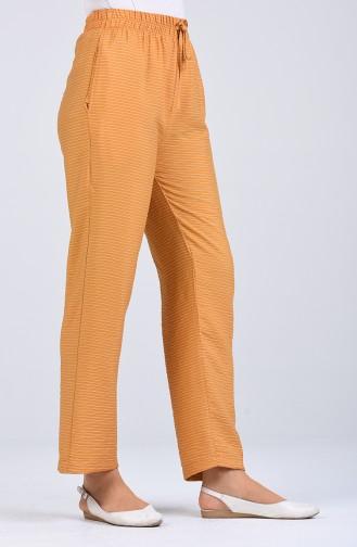 Pantalon Moutarde 0161-03