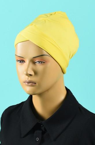 Bonnet de Bain Jaune 1014-03