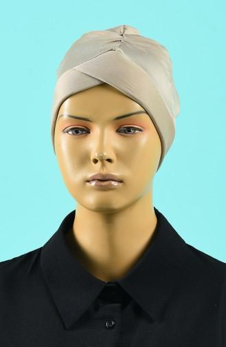 Bonnet de Bain Beige Foncé 1014-04