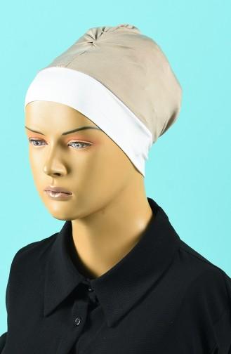 Bonnet de Bain Beige Foncé 1015-03