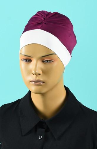 Bonnet de Bain Fushia Foncé 1015-05