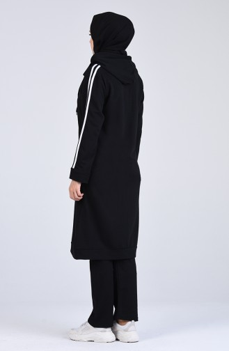 Black Sweatsuit 20020B-01