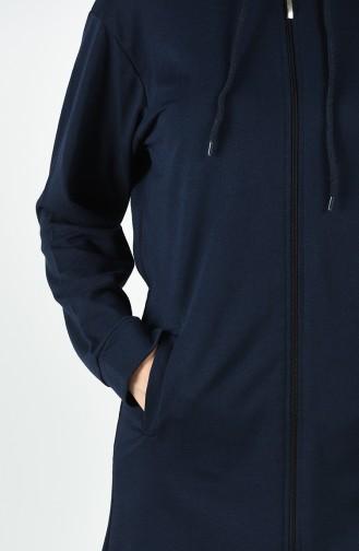 Navy Blue Sweatsuit 20020C-02