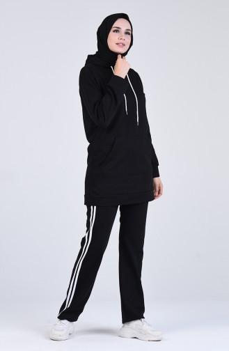 Black Sweatsuit 20021-01