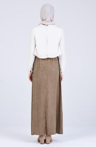 Brown Skirt 9009-01