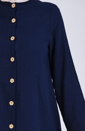Navy Blue Abaya 12204-02