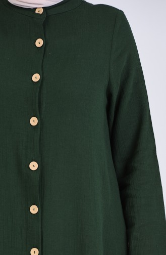 Green Abaya 12204-04