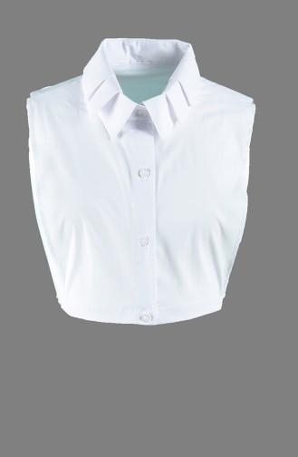 Gömlek Yaka 6784-01 Beyaz