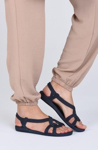 Bayan Sandalet KSK02-02 Lacivert
