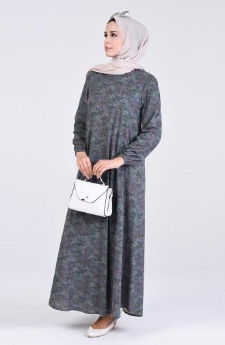 Robe Hijab Vert 6169H-01
