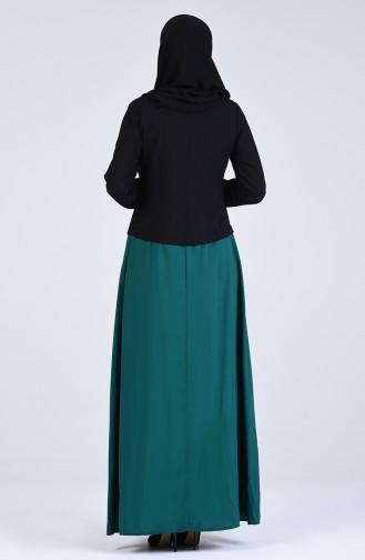 Robe Hijab Noir 6469-01