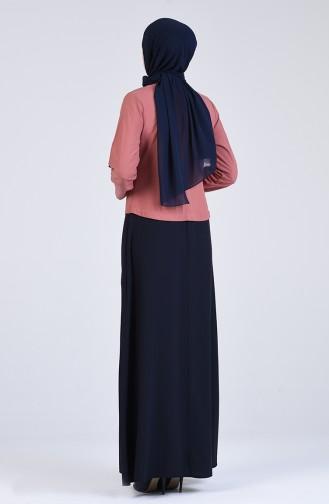Zwiebelschalen Hijap Kleider 6469-07