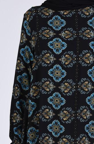 Turquoise Tuniek 1003A-01