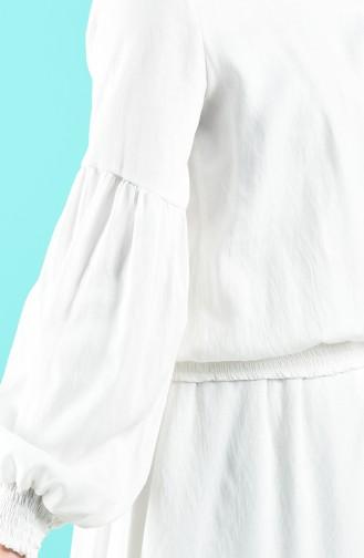 Blouse Blanc 8068-01