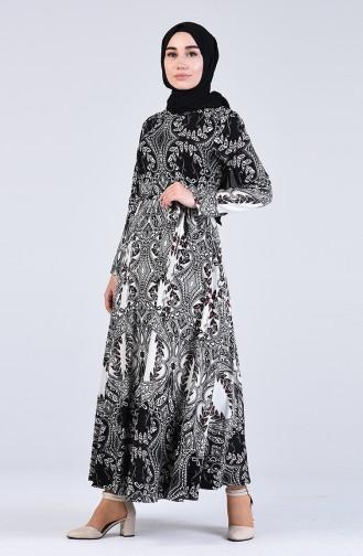 Black İslamitische Jurk 20Y3034301A-01