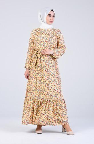 Robe Hijab Jaune 20Y3063800-02