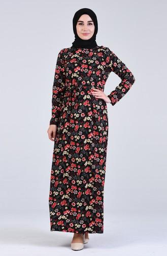 Robe Hijab Rouge 5708S-03