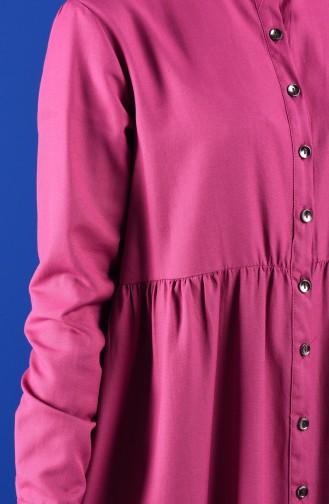 Robe Hijab Fushia Clair 5037-16