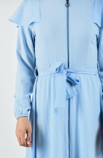 Light Blue Abaya 3803-06