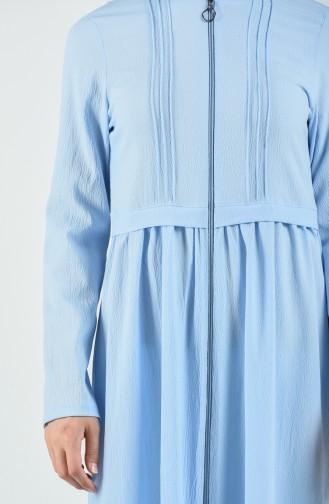 Abayas Bleu clair 3901-06