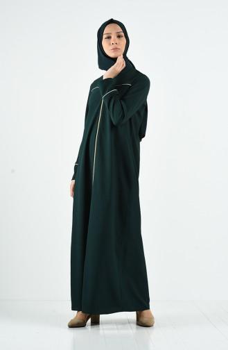Abayas Vert emeraude 3996-03
