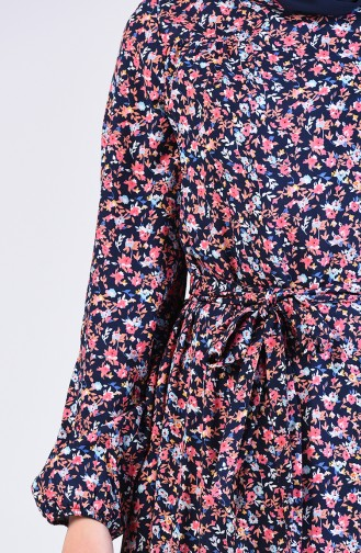 Robe Hijab Bleu Marine 20Y3063800-03