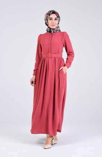 Dusty Rose İslamitische Jurk 5644-09