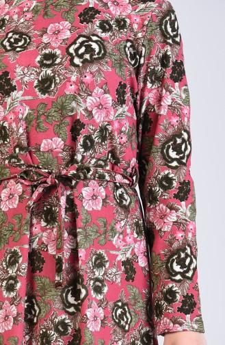 Schwarz Hijap Kleider 5708J-05