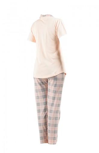 Salmon Pyjama 2540-01