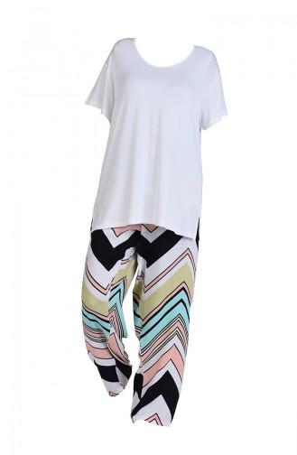 Wassergrün Pyjama 712271-A