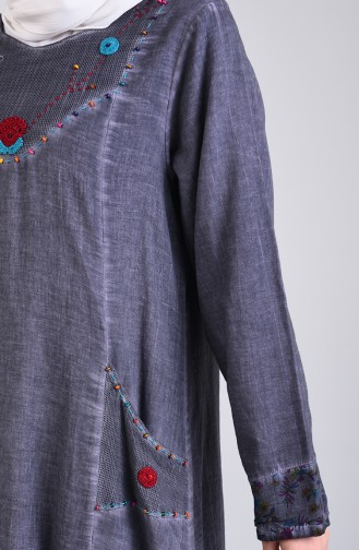 Robe Hijab Antracite 9595-05