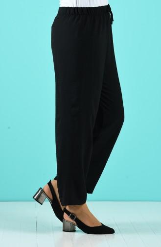 Pantalon Noir 1027-01