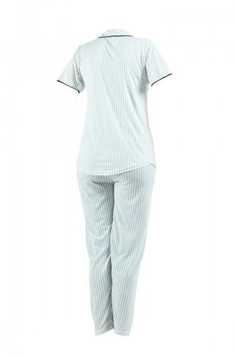 Pyjama Vert eau 2538-01