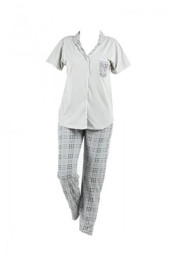 Gray Pyjama 2541-01