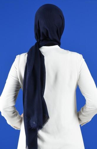 Châle Bleu Marine 8002-02