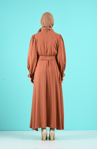 Robe Hijab Pelure d`oignon 12045-03