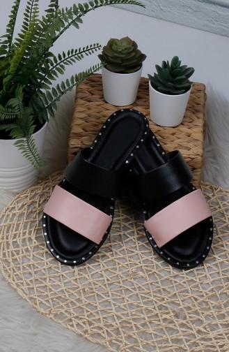 Chaussons Pour Femme Noir 0003-09