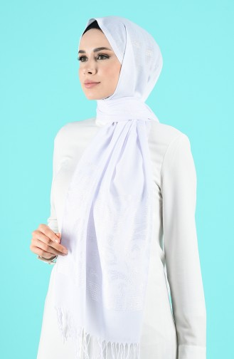 Châle Blanc 70163-03