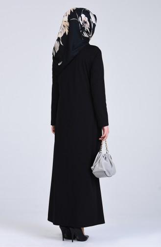 Black Abaya 3055-01