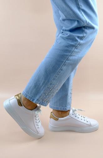 Chaussures de Sport Blanc 2020M-03