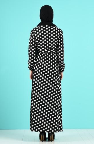 Robe Hijab Ecru 0373-01