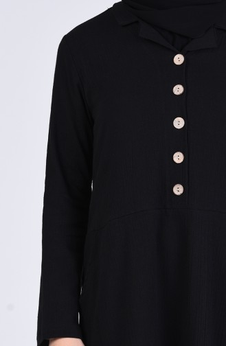 Robe Hijab Noir 12205-03