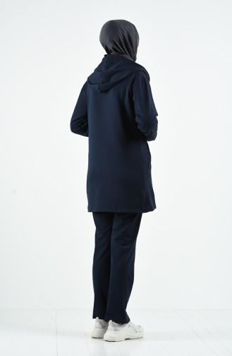 Survêtement Bleu Marine 20022-02