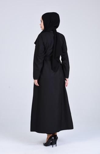 Black Abaya 4039-01