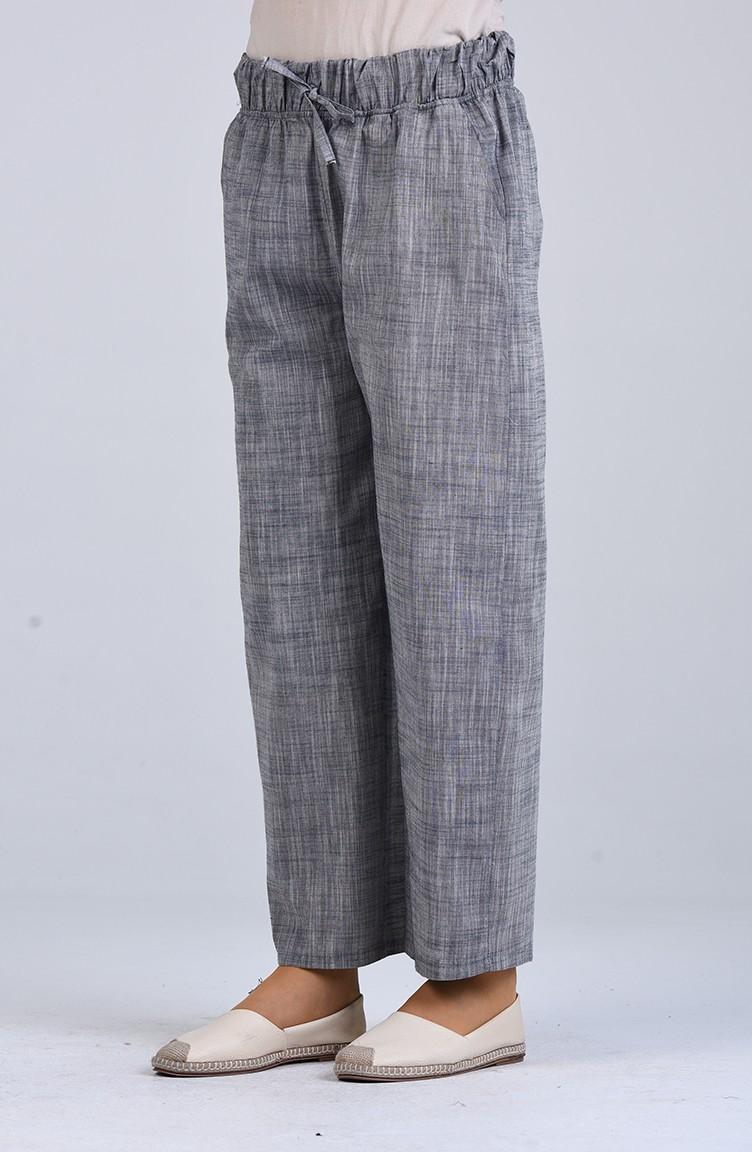 sefamerve pantolon sultaniyegah9008b 04 5433481593536610821 1 Gray Pants 9008B-04